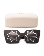 Made In Japan Star 3d Effect Sunglasses With Case