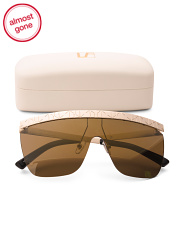 Made In Japan Statement Sunglasses With Case