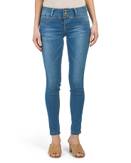 Tummy Tuck 3 Button Skinny Jeans