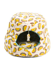 Taco Toss Cat Hut And Lounger