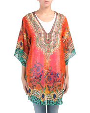 Rounded Poncho