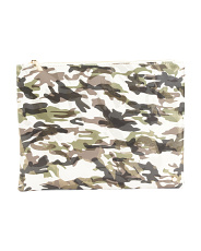 Camo Pattern Large Pouch