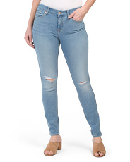 The Mid Rise Ankle Skinny Jeans