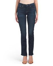 Mid Rise Kimmie Straight Leg Jeans