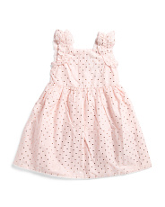 Toddler Girls Ruffle Strap Dress