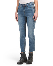 The Madison High Rise Cropped Jeans