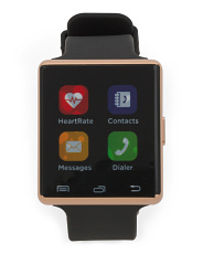 Air 2 Smartwatch With Heartrate Monitor And Silicone Strap