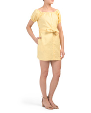 Savoy Linen Dress