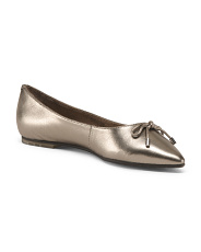 Pointy Toe Patent Leather Flats