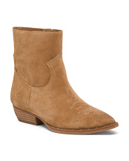 Western Inspired Suede Booties