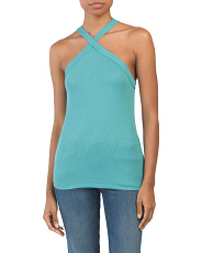 Made In Usa Criss Cross Front Date Night Top