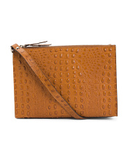 Made In Italy Spice Crossbody Clutch