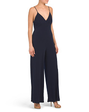 Made In Usa Sleeveless Jumpsuit