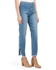 Stovepipe Straight Jeans
