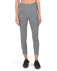 High Rise Cropped Leggings