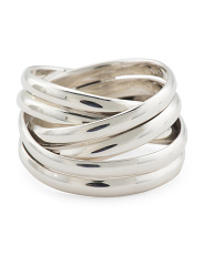 Made In Mexico Sterling Silver Wrap Ring