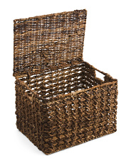 Medium Rectangular Weave Basket