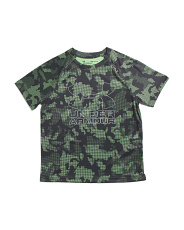 Boys Big Logo Hybrid Printed Tee
