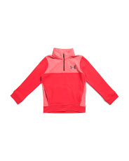 Boys Threadborn Fleece Quarter Zip Top