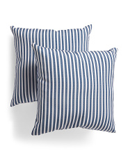 18x18 2pk Indoor Outdoor Reversible Pillows