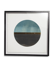 18x18 Framed Circle Wall Art