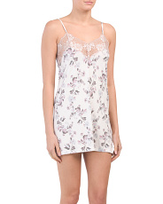 Bella Delicate Floral Chemise