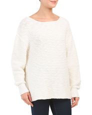 Menace Solid Tunic Sweater