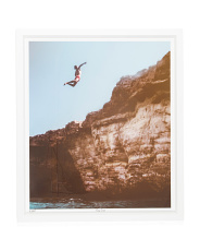 Cliff Diving Wall Art