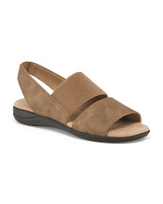 Wide Flat Comfort Footbed Sandals