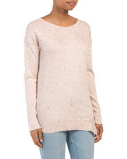 Fleck Pullover Sweater