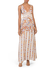 Claire Printed Maxi Dress