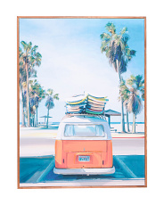Retro Beach Day Wall Art