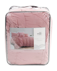 5pc Textured Nikki Comforter Set