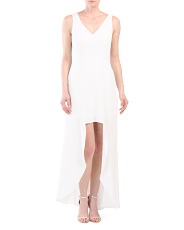 Asymmetrical Hi-lo Dress