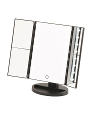Trifold Led Lightup Makeup Mirror