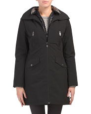 Lightweight Coat With Bib