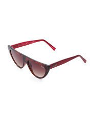 Run Away Narrow Cat Eye Sunglasses