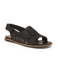 Slingback Leather Comfort Sandals