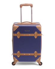 20in Hardside Trunk Style Carry-on