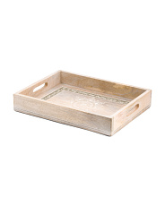 Carved Wooden Tray