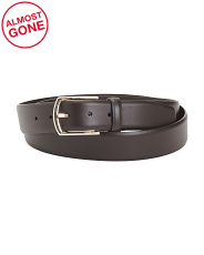 Made In Italy Formal Classic Leather Belt