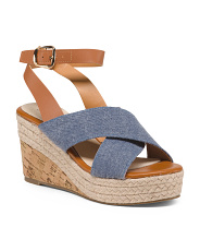 Cross Band Wedges