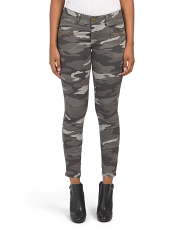 Ab Tech Camo Ankle Jeans
