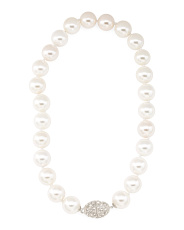16mm Mother Of Pearl Bead Necklace
