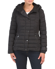 Petite Puffer Coat With Hood