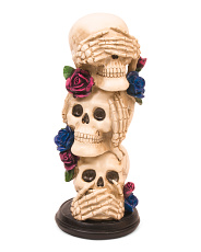 14.5in Resin Skull Stack