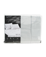 6pc 700tc Cotton Rich Sheet Set