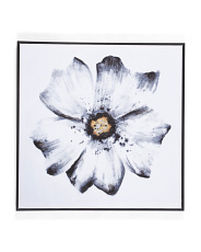 30x30 Gloomy Bloom Canvas Wall Art