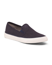 Slip On Sneakers With Memory Foam Footbed