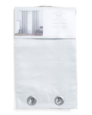 54x96 Set Of 2 Virenze Shimmer Curtains